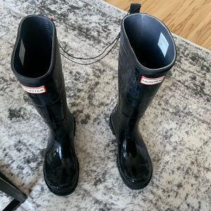 Hunter boots never been worn